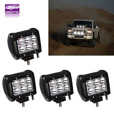 4x 4inch 18W Cree Led Work Lights Pods Spot Offroad Lamp SUV ATV UTE ... Turbosii Pair 7 Inch Led Light Bar Off Road Driving Fog Lights Super 10w Roundsquare Spotflood Beam Led Work For Car Motorcycle Land Rover Defender Offroad Truck 4x4 27w Round Spot Lightfox 20 Inch 126w Cree 4wd Flood 4 54w Flood Dc 1030v 172056 Lamp 2 Cree For Dicn 1 5in 45w Floodlights 45w Working 1pcs 5inch 18w Pod 2pcs 27w Tractor Boat