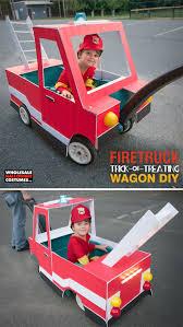 DIY Firetruck Wagon Upgrade | DIY Halloween Costume Ideas ...