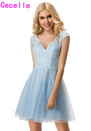 popular bridesmaids dresses light blue buy cheap bridesmaids
