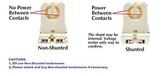 Requires Non Shunted Lamp Holders Tombstones by Non Shunted T8 G13 Tombstone Ul Listed Ruixin Socket For Led