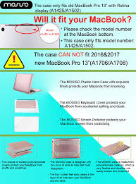 My Tjx Service Desk by Amazon Com Mosiso Plastic Hard Case With Keyboard Cover With