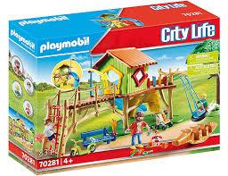 playmobil city kita abenteuerspielplatz 70281