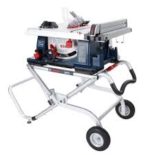 Kobalt 7 Wet Tile Saw With Stand by Ridgid 15 Amp 10 In Heavy Duty Portable Table Saw With Stand