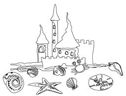 Download Coloring Pages Beach Free Printable For Kids