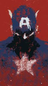 Captain America Art iPhone 5 Wallpaper 640x1136