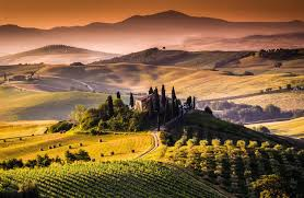 Tuscany Landscape Ultra HD Wallpaper