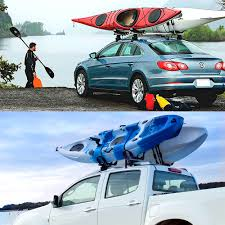 Universal Double Folding Kayak Rack Canoe Boat Surf Ski Roof Top ... Best Kayak And Canoe Racks For Pickup Trucks Amazoncom Maxxhaul 70231 Hitch Mount Truck Bed Extender For The Ultimate Guide To View Diy Rack Howdy Ya Dewit Easy Homemade With 5th Wheel Boats Pinterest Rack How Load A Kayak Or Canoe Onto Your Pickup Truck Youtube Pvc Best Braoviccom White Boat Where Get Build Carrier Archives Sweet Stuff Souffledevent