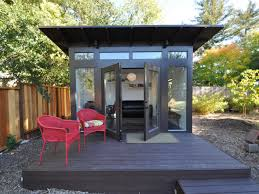 Give Your Backyard An Upgrade With These Outdoor Sheds | HGTV's ... Down To Business With This Backyard Office Tuff Shed Shedworking Uerground Garden Office Atelier Pamjenny Garage 14 Inspirational Offices Studios And Guest Houses Backyards Impressive 25 Best Ideas About On Ideas On Pinterest Outdoor Home Sheds Never Drive Work Again Green Roofready Room Pops Up In Six Short Weeks Guest Houses House