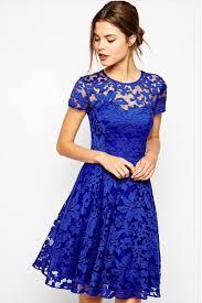 mujer línea a encaje vestido noche sofisticado un color escote