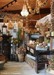 Very Rustic Chic Fall Store DisplaysFall