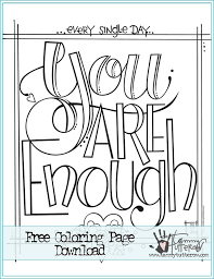 Ideas Of Printable Coloring Quotes Pages With Additional Template