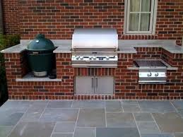 Outdoor Kitchen Ideas With Green Egg