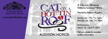 Cat On A Hot Tin Roof : Our 2015-2016 Season : The Barn Theatre Jean Hooper The Barn Theatre Montville New Jersey Njs Most Teresting Flickr Photos Picssr Peter Fonda Jr Fiddler On The Roof Our 72018 Season Herb Reich Jim Dowaliby Nj Facebook Cal Waitkus Pictures From Solstice Showcase 2017 Marilyn Deluca Instagram Photos