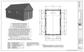 Shed Plans 16x20 Free by Pole Barn Plans