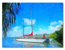 Carib News Desk Index Php News by D Randy West Sails Over The Horizon Multihull Anarchy Sailing