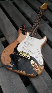 John Mayer Black One 1 Stratocaster Relic Strat Aged