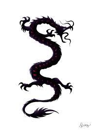 Tribal Dragon Tattoo By DarkIcyWarrioress