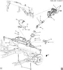 100 2011 Malibu Parts Steering System Related Parts Chevrolet EPC
