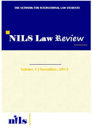 NILS Law Review Vol 1 By The Network For International