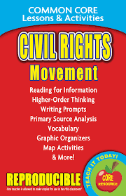 Common Core Lessons Activities Civil Rights Movement Book