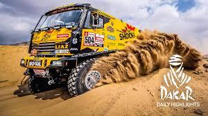 100 Dakar Truck Rally Day 4 Highlights S Videos