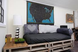 DIY Living Room Bed Pallet Designed By Sarah Phipps Design