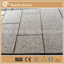 granite tile wall cladding design flamed china rosa porrino xili
