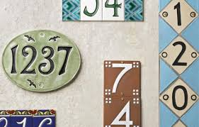 Mexican Tile House Numbers With Frame by Ceramic House Numbers This Old House