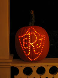 Pumpkin Carving With Drill by Perforated Pumpkins