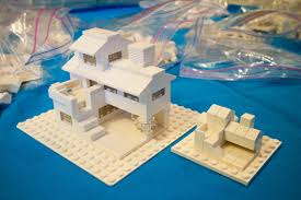 100 Lego Space Home Challenge 2 Build A Microscale Home Then A Bigger