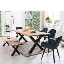 x gestell tisch bank plus 4 stühle esvalda 6 teilig