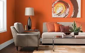 farben für wohnzimmer in orange 80 wohnideen