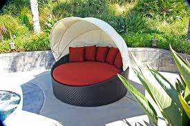 Daybeds Round Outdoor Sofa Canopy Garden Daybed Cheap Cabana