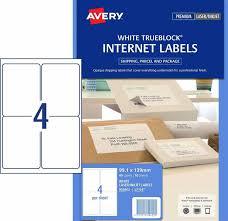 4 Per Page Label Template New Internet Shipping Labels 959402 Avery