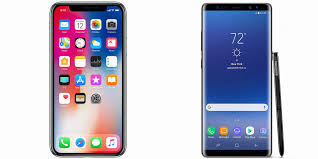 Apple iPhone X vs Samsung Galaxy Note 8 Which Is Better