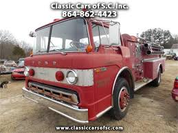 100 Ford Fire Truck 1972 For Sale ClassicCarscom CC1056996