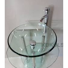 Sears Bathroom Vanity Combo by Yesler Wall Mount Glass Sink Bathroom Sinks Bathroom Glass Wall