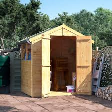 6 X 5 Apex Shed by Wooden Sheds Wooden Garden Sheds Garden Buildings Direct