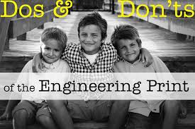 Dos And Donts For The Engineering Print