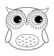 Owl Coloring Pages Great To Print