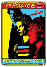 The Police Concert Poster Facebook FromTheWaybackMachine