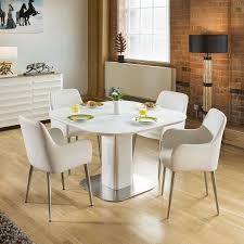 Stunning Dining Set White Glass Square Extending Table +4 White ... Kitsch Round Glass Table Set Of 4 Chairs Dfs Ireland Mcombo Mcombo Ding Side 4ding Clear Ingatorp And Chairs White Ikea Cally Modern Table With La Sierra Fniture Grindleburg 60 Woodstock Carisbrooke Barker Stonehouse Dayton 48 Upholstered Shop Hlpf5cap 5 Pc Small Kitchen Setding Hanover Traditions 5piece In Tan A Jofran Simplicity Chair Slat Back Pier 1 W Aptdeco Rovicon Lulworth Pedestal