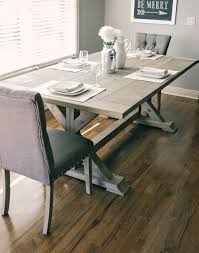 Rustic Elegant Farmhouse Table