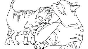 Kitten Coloring Pages Cute Kittens Printable Page Cat Baby C For Kids Disney