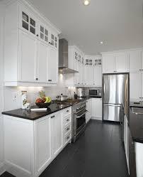 cuisine bois blanchi blanc un retour cuisine bois quartz