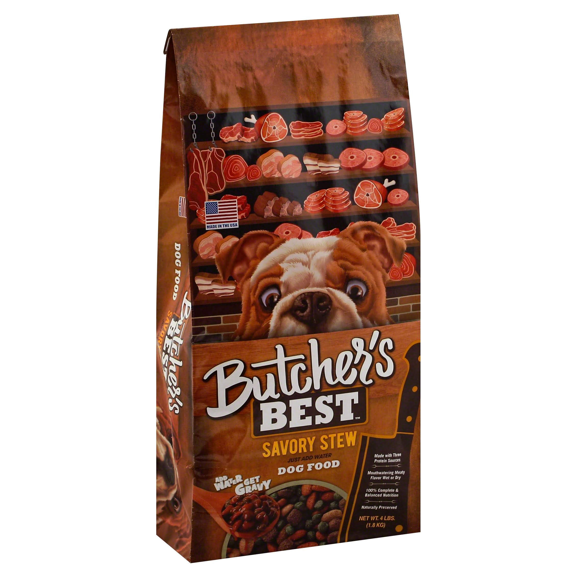 Butchers Best Dog Food, Savory Stew - 4 lb