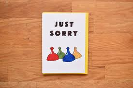 Funny Sorry Card For Best Friend Apology