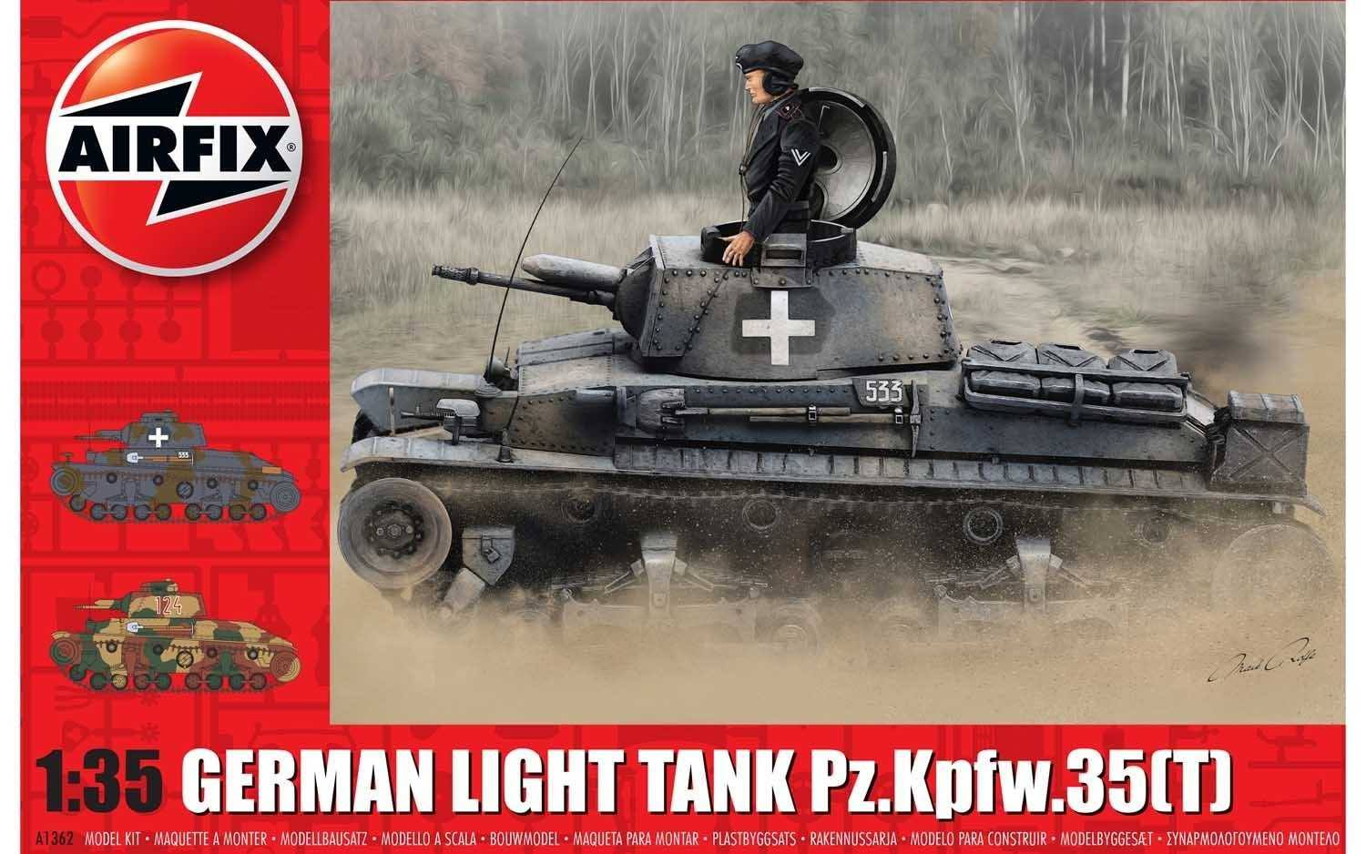 Airfix 5055286662263 German Light Tank Model Kit