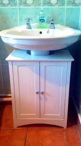 Home Depot Pedestal Sink Cabinet by Under Sinks Diy Pedestal Sink Storage Finest Cabinet For Clean