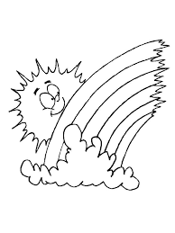 Weather Coloring Sheets For Preschoolers